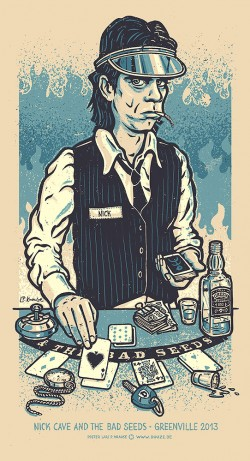 Nick Cave blau 1000