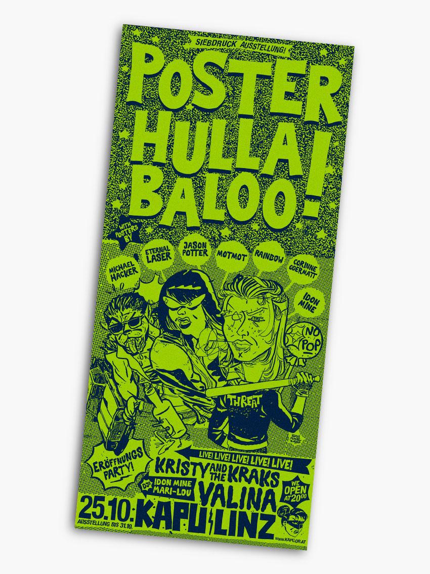 Poster Hulla Baloo