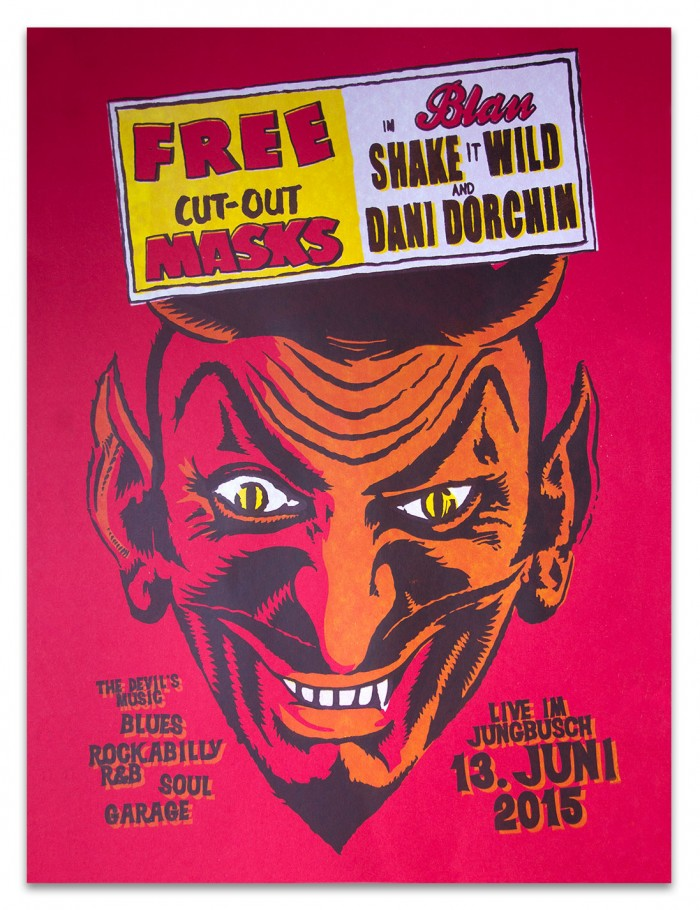 Dani Dorchin & Shake it Wild in Mannheim