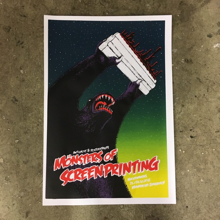 Monsters of Screenprinting