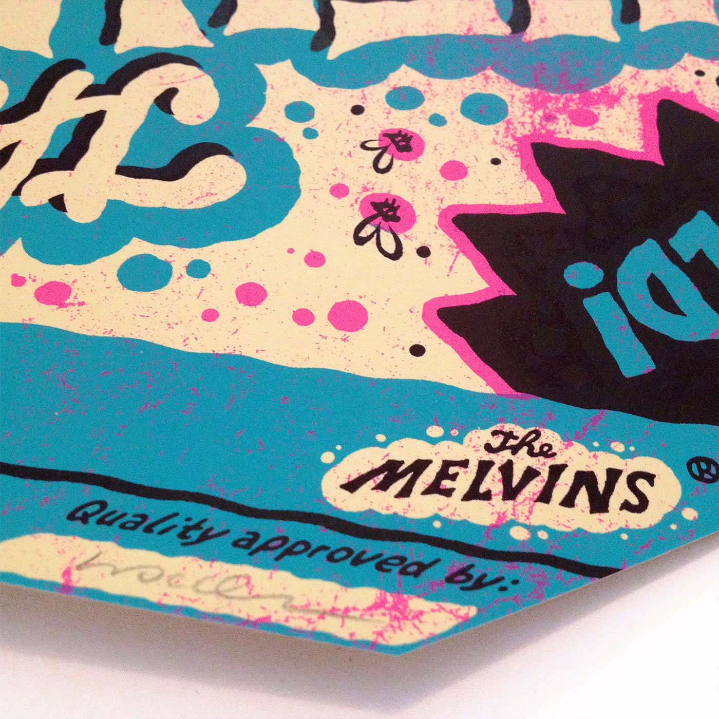 Melvins gigposter by Michael Hacker
