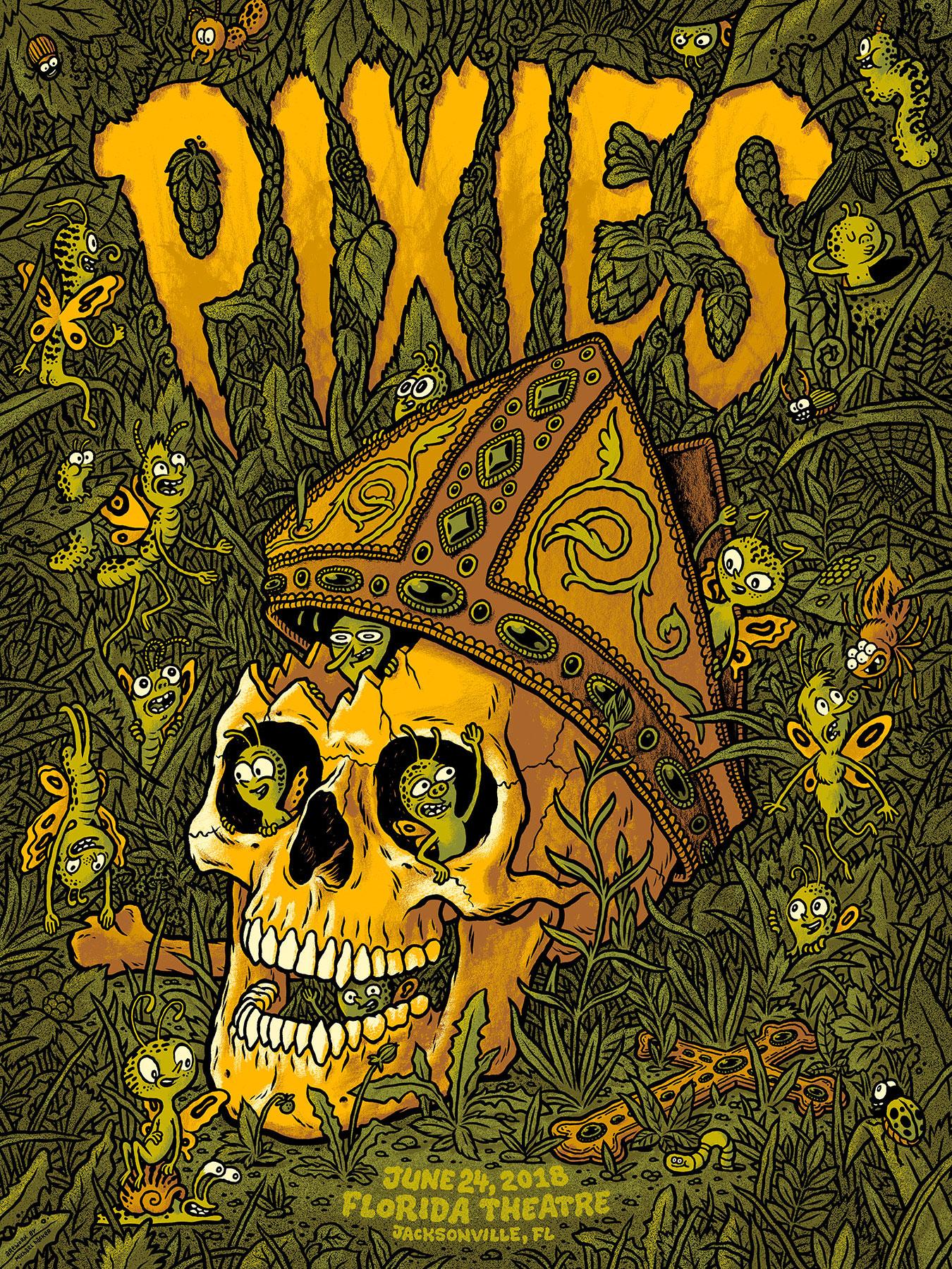 Michael Hacker Pixies Poster