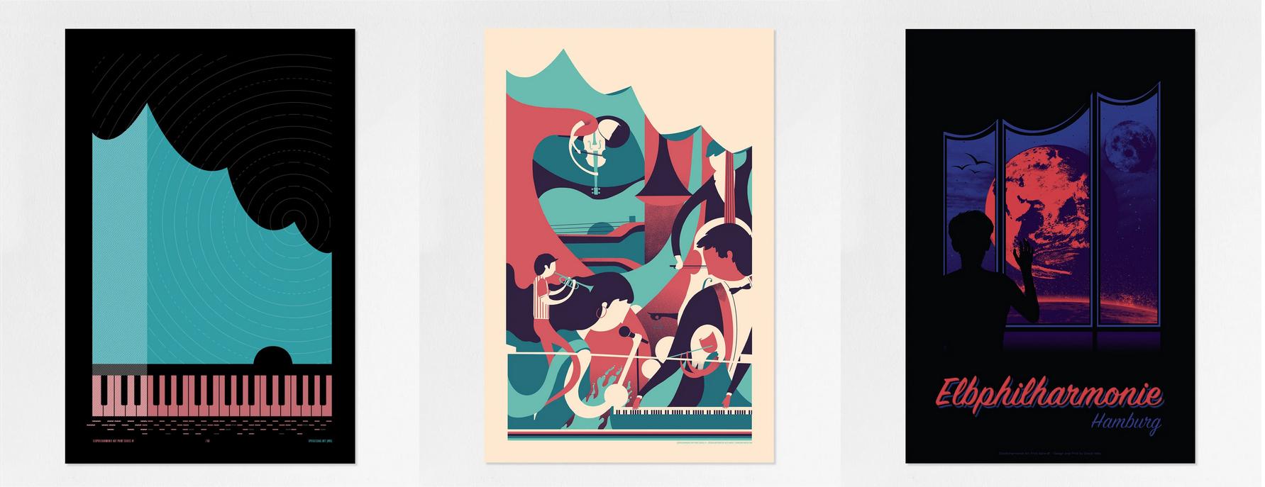 Elbphilharmonie-Kunstdrucke Kopie